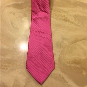 """100% Silk Pink Tie by Arrow 59"""" Long"""